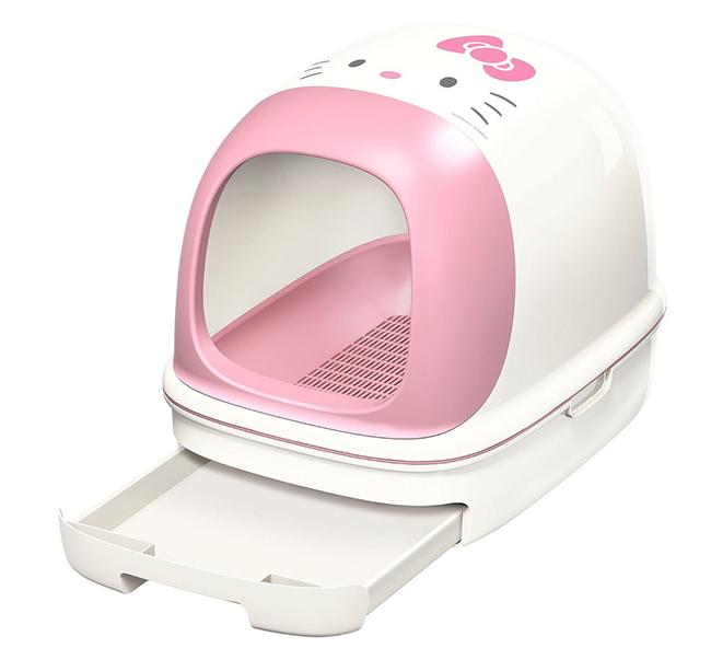 Японский закрытый биотуалет Nyan-tomo Seiketsu Toilet