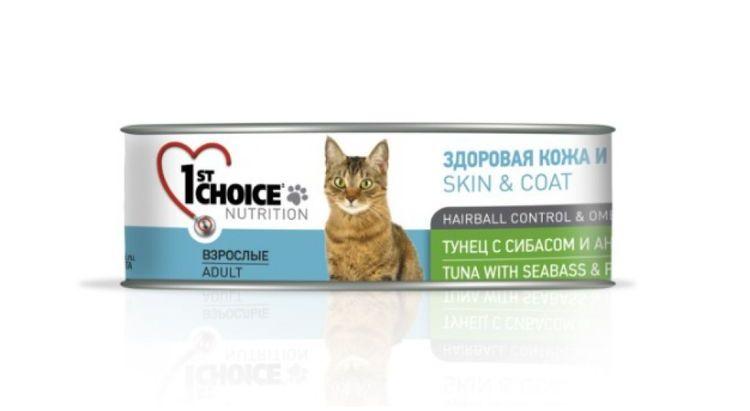 1st Choice для взрослых кошек