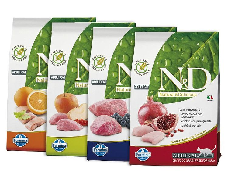 Линейка кормов Natural & Delicious (N&D)