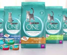 Линейка кормов Purina One