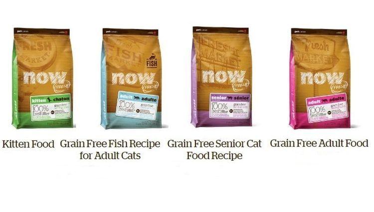 Ассиотимент корма Нау для кошек