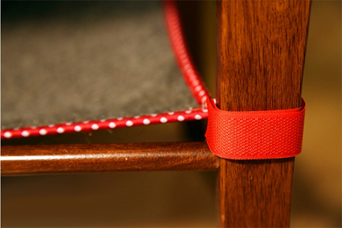 Крепление гамака к стулу