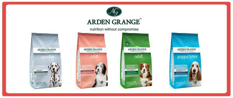 Линейка сухих кормов для собак Arden Grange