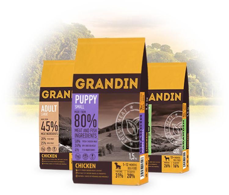 Сухой корм Grandin для собак
