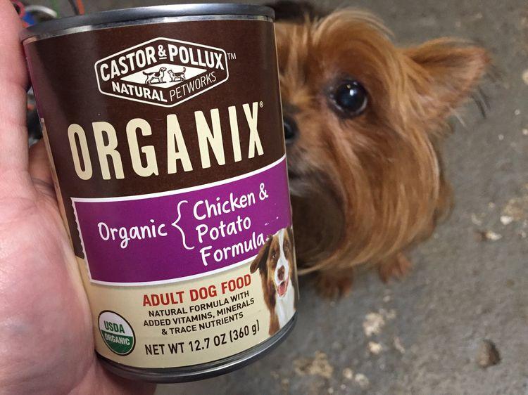 Корм Органикс для маленьких собак
