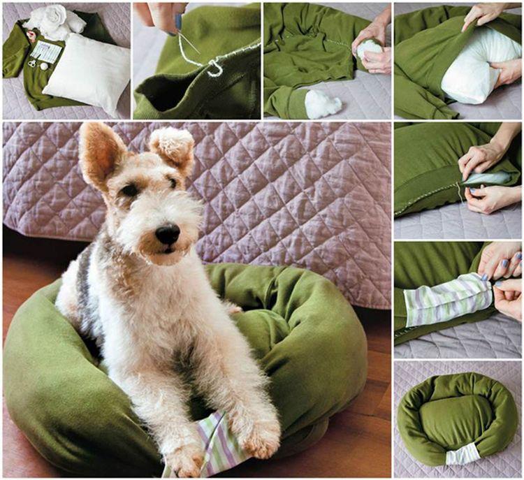 Лежанка из свитера своими руками фото 203