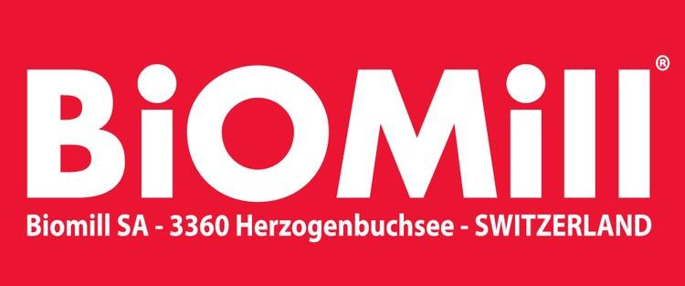 Логотип компании Биомил