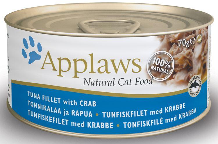 Applaws для котов с тунцом