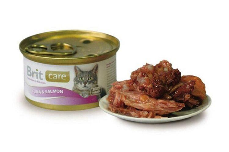 Корм Brit Care Cat Пауч Курица и сыр 80g для кошек 100118