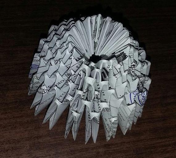 МК Артемон в технике модульного оригами
