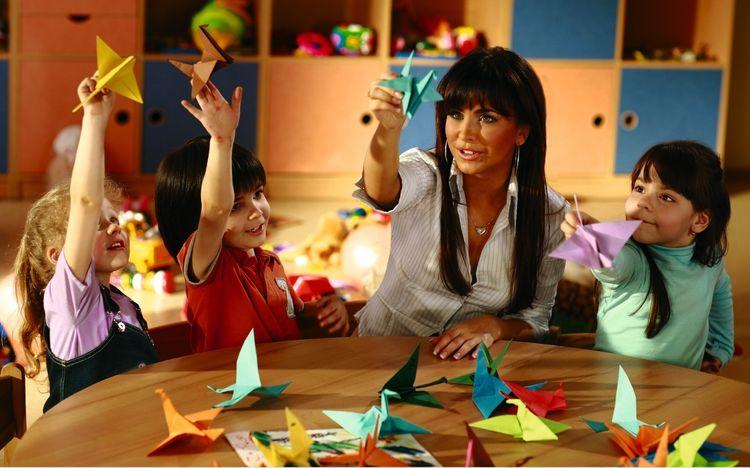 Оригами с детьми
