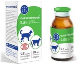 Флексопрофен для собак