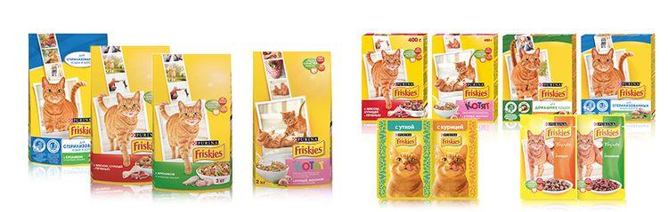 Корм для кошек Фрискис