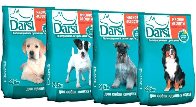 Сухой корм для собак Дарси