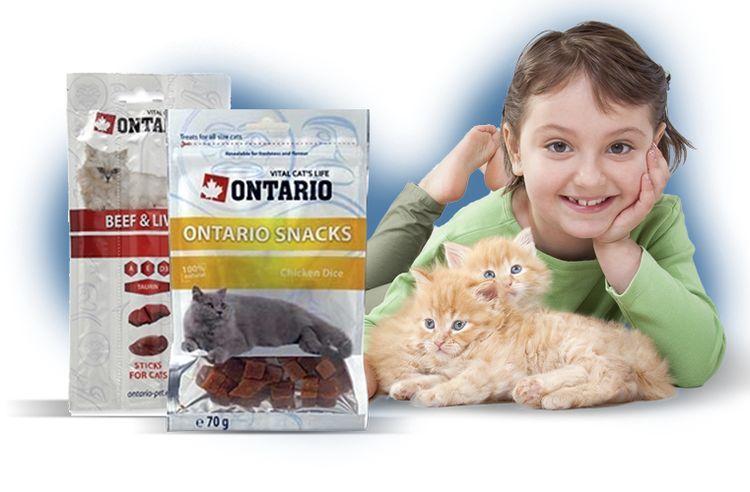 Корм для кошек Онтарио
