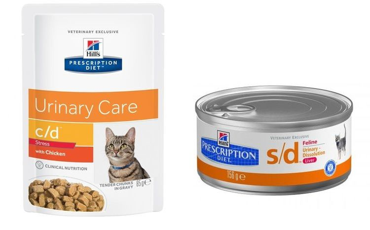 Корм для кошек Hill's Prescription Diet™ Feline s/d при МКБ