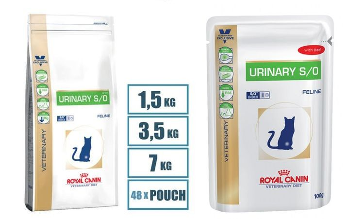 Корм для кошек Royal Canin Urinary Programme LP-34