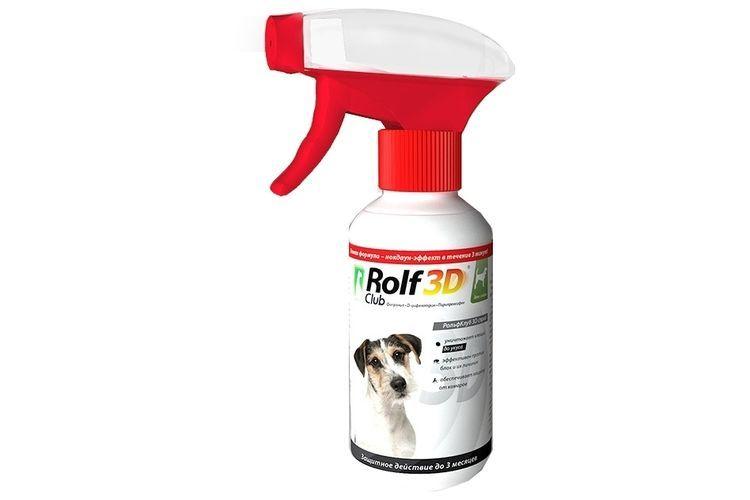 Спрей Рольф Клаб 3Д для собак