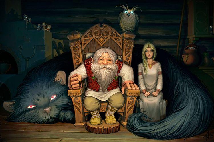 Ешкин кот в славянской мифологии