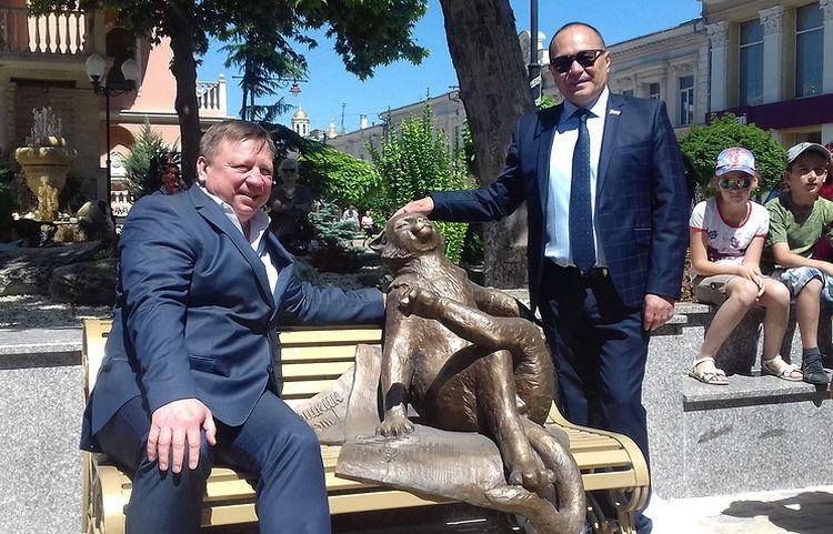 Ешкин кот памятник в Симферополе