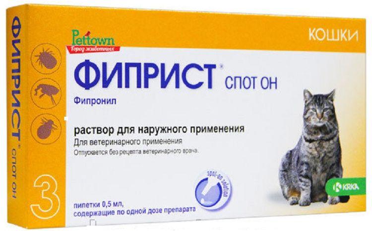 Капли для кошек Фиприст