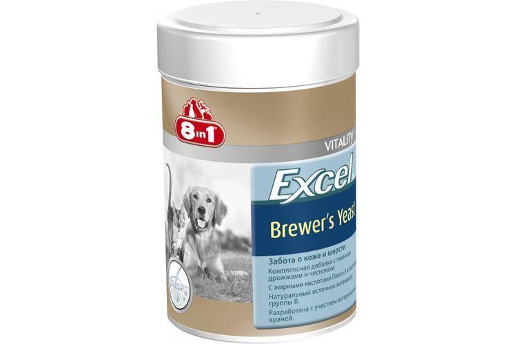 Пивные дрожжи «8 в 1 Excel Brewer's Yeast»