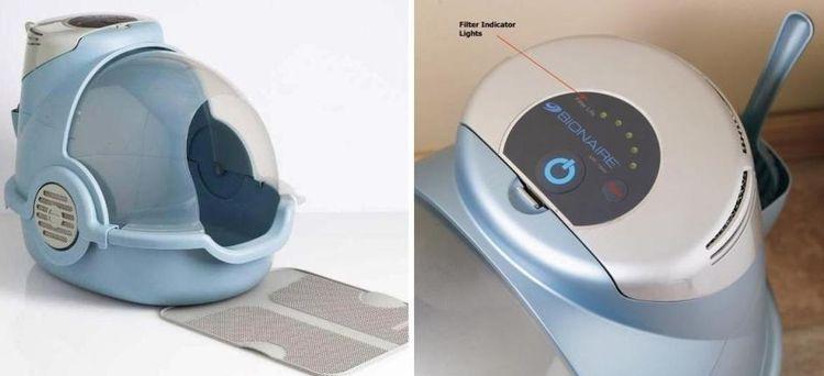 Био-туалеты с угольными фильтрами