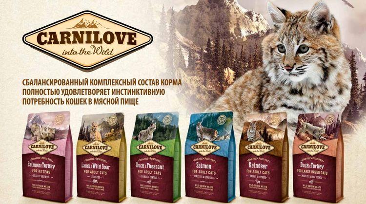 Корм для кошек Карнилав