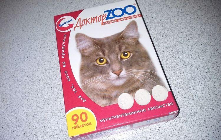 Доктор ЗОО витамины для кошек