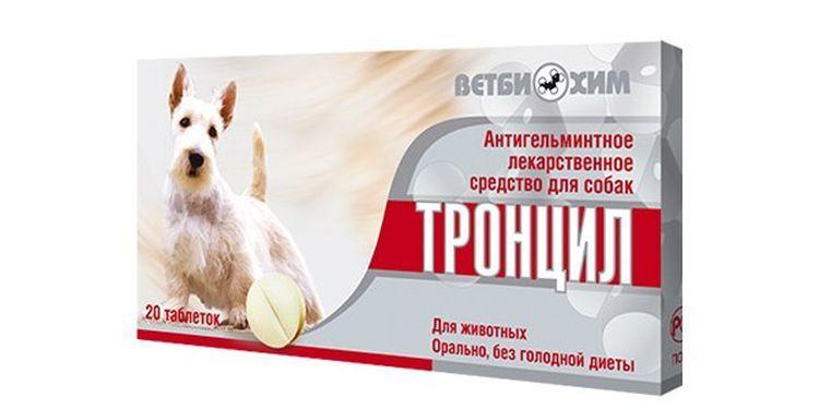 Препарат Тронцил