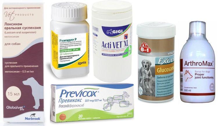 Препараты для лечения разрыва связок