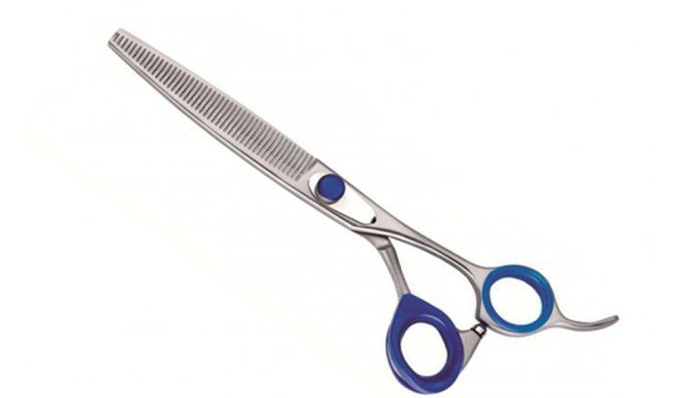 Ножницы для стрижки собак с регулируемым винтом
