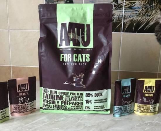 Aatu - корм для кошек