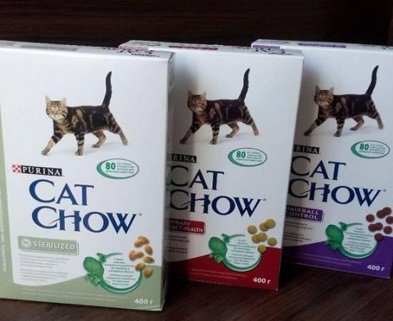 Кет Чау корм для кошек