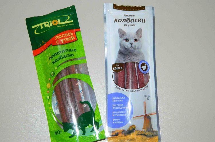 Лакомства для кошек Triol