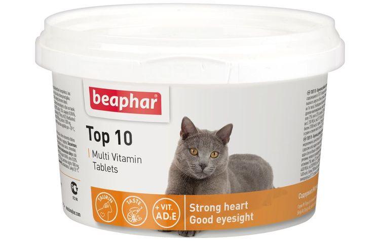 Витамины Беафар для кошек