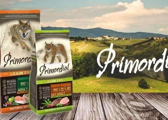 Корм для кошек Primordial