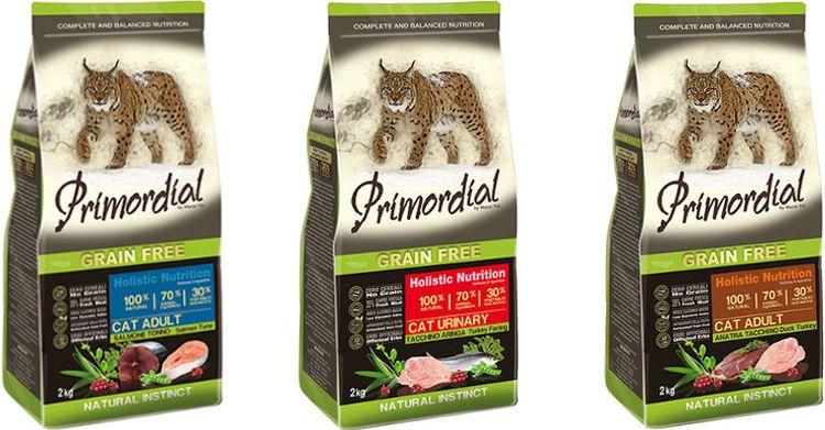 Холистик для кошек Primordial