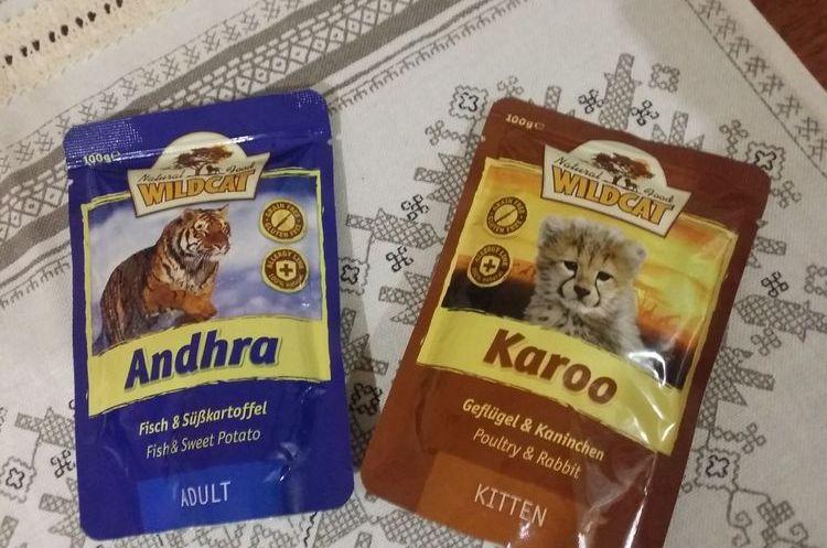 Влажный корм для кошек Wild Cat