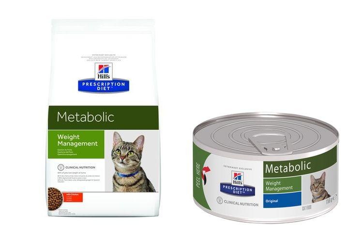 Виды корма Hills Metabolic