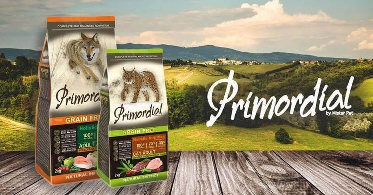 Корм для кошек Примордиал