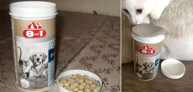 витамины для кошек Excel Brewers East 8 in 1