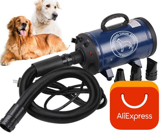 Компрессор для сушки собак на ALIEXPRESS: все «за» и «против»