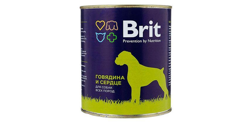 Консервы для собак Брит Премиум
