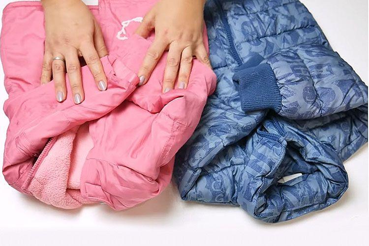 Комбинезон из детских курток