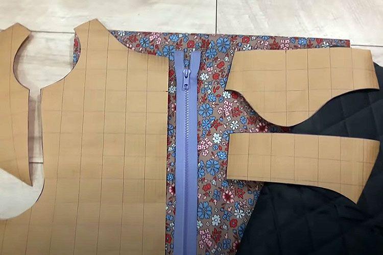 Выкройка и ткань для комбинезона