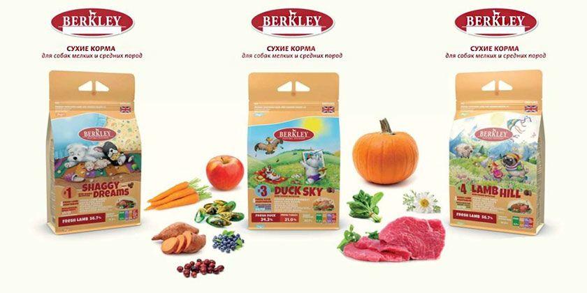 Сухие корма Berkley