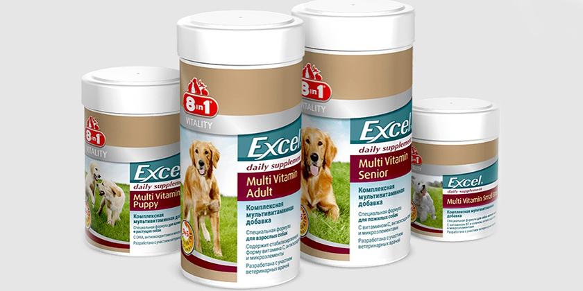 Мультивитаминные комплексы для собак
