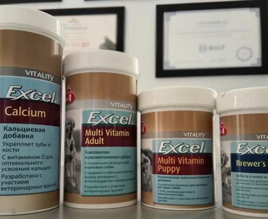 Мультивитамины для собак