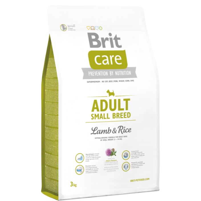 Корм Brit Care Adult Small Breed